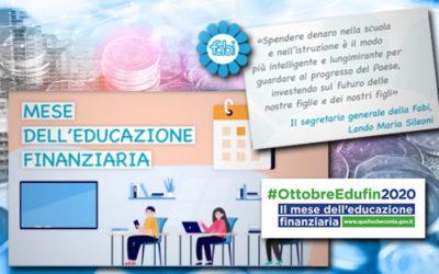 """""""LA FABI FA SCUOLA"""", AL VIA LA TERZA CAMPAGNA FABI PER L'EDUCAZIONE FINANZIARIA"""